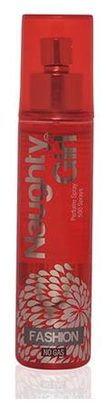 Naughty Girl FASHION No Gas Perfume Spray for Women 60ml