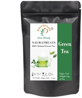 Nauratreats Raho Healthy Green Tea Loose Leaf for Weight Loss ( 500 g)
