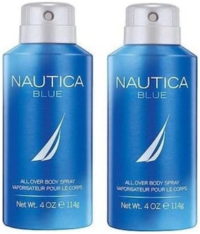 Nautica Blue + Blue Deo Combo Set - Pack of 2