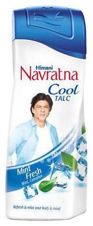 Navratna Talc - Mint Fresh 400 g