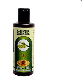 Neem oil 200 ml S & H 100 % extra pure & Natural