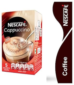 Nescafe Cappuccino 25 g Each (Pack Of 5)