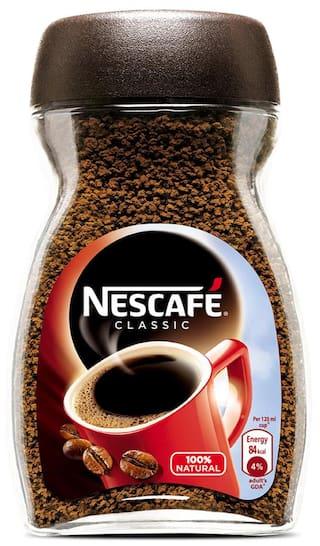 Nescafe Classic Coffee 50g Glass Jar