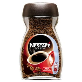 NESCAFE CLASSIC COFFEE GLASS JAR