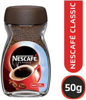 NESCAFE Classic Coffee Powder, 50g Dawn Jar