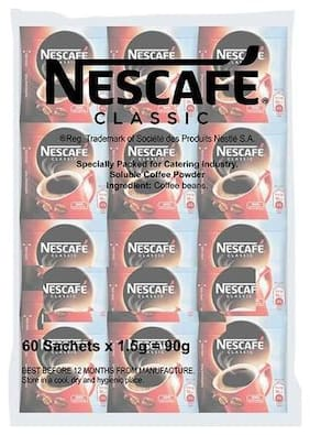 Nescafe  Coffee - Classic (60 Sachets; 1.5 g each)