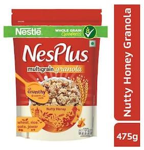 NesPlus Granola - Multigrain  Breakfast Cereals  Nutty Honey 475 g