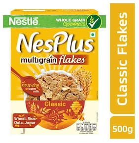 NesPlus Multigrain Flakes 500 gm
