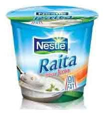 Nestle  A+ Raita Bhuna Jeera Curd 185 g