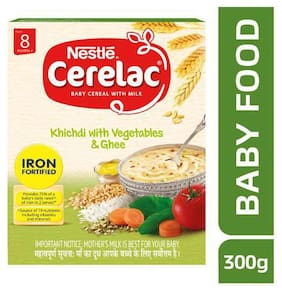 Nestle  Cerelac -Kichdi with Vegetables & Ghee  for 8 month 300 g