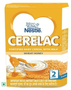 Nestle Cerelac - With Milk & Wheat Honey  From 8 Months 300 Gm