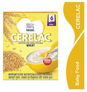 Nestle Cerelac With Milk & Wheat  From 6 Months 300 Gm