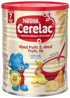 Nestle Cerelac Honey & Wheat With Milk (12m+) 400g (Imported) (Pack Of 1)