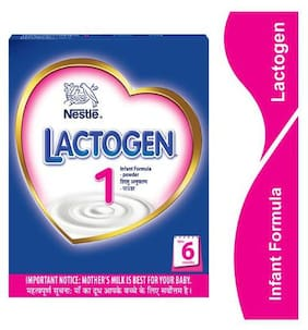 Nestle Lactogen 1 Infant Formula Powder  Upto 6 Months 400 Gm