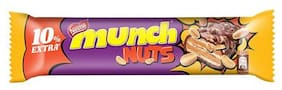 Nestle  Munch Nuts Chocolate Coated Wafer Bar 32 gm