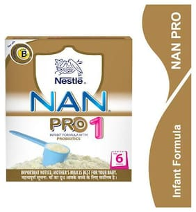 Nestle Nan Pro 1 Infant Formula With Probiotics Upto 6 Months 400 g