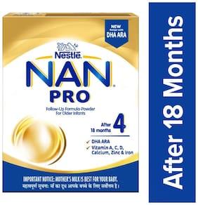 Nestle Nan Pro 4 Follow Up Infant Formula Powder  After 18 Months 300 Gm