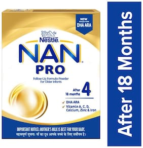 Nestle Nan Pro 4 Follow Up Infant Formula Powder  After 18 Months 400 g