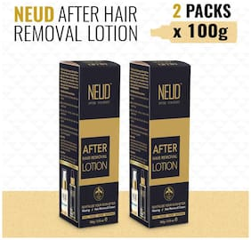 NEUD After Hair Removal Lotion for Skin Care in Men & Women 2 Packs (100 g each)