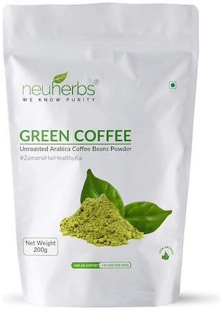 Neuherbs Green Coffee Beans Powder for Weight loss Management : 200 G