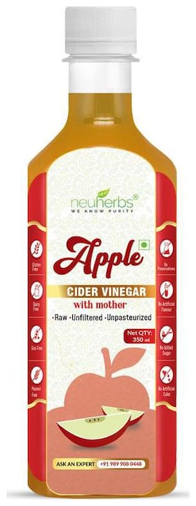 Neuherbs Apple Cider Vinegar With Mother-350ml