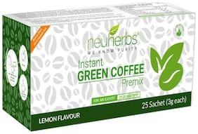Neuherbs Green Coffee Instant Premix -25 Sachet (3g Each)