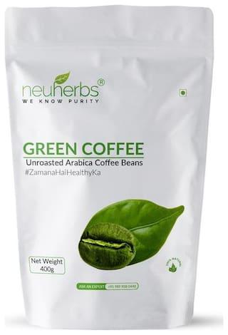 Neuherbs Green Coffee Beans 400 g Pack of 1
