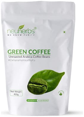 Neuherbs Green Coffee Beans for Weight loss Management : 400 G