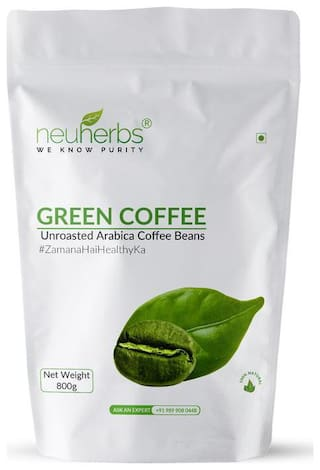 Neuherbs organic green coffee beans 800 gm Pack of 1