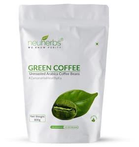 Neuherbs organic green coffee beans 800 gm Pack of 1