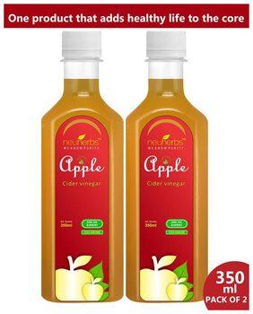 Neuherbs Apple Cider Vinegar - 350ml ( Pack Of 2 )