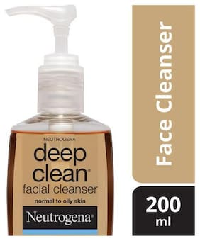 Neutrogena Facial Cleanser Deep Clean (Normal To Oily Skin) 200 ml