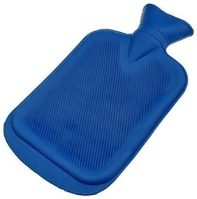 New Deal Rubber Hot Water Bottle For Cramps And Pain Relief (Assorted colors)