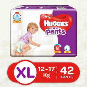New Huggies Wonder Pants Extra Large (XL) Diapers (42 Count)
