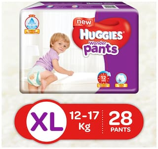 Huggies Wonder Pants Extra Large (Xl) Diapers (28 Count)