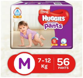 Huggies Wonder Pants Medium Size Diapers (56 Counts)