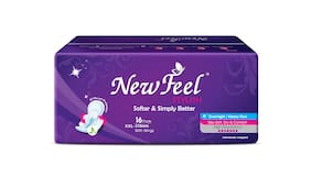 Newfeel Stylish Softer & Simply Better 310mm,32 Pcs Pads Pack Of 2(16 Pcs each)