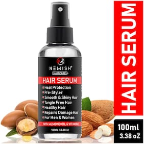 Newish Hair Serum for Frizzy, Rough and Dry Hair for Women and Men, 100 ml