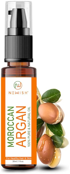 Newish Moroccan Argan Oil for Hair and Face 30ml