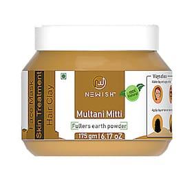 Newish Premium Quality Organic Multani Mitti Face Mask For Soft and Blemish Free Skin 175 g