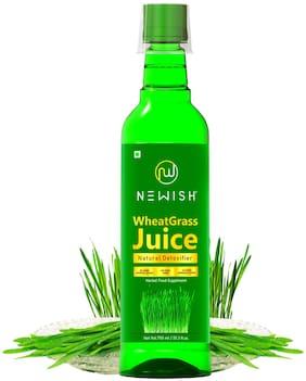 Newish Wheatgrass Juice Organic for Drinking 750 ml