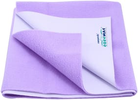 Newnik Cozymat Soft,Water-Proof & Reusable Mat Purple Pack of 1