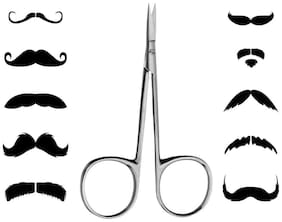 Newvez Moustache;Eyebrow;Beard Facial Hair Removal Trimming Scissor