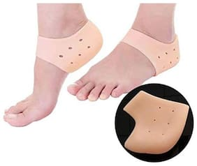 Neyssa Silicone Gel Heel Pad Socks for Pain Relief for Men and Women