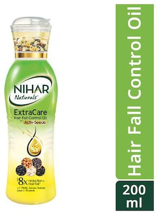 Buy Nihar Naturals Extracare Hair Fall Control Oil 200 Ml Online At Low Prices In India Paytmmall Com