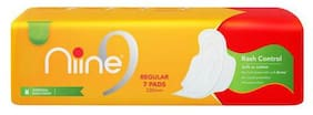 Niine Sanitary Napkins - Regular-230 mm Fluff With Wings 7 pcs