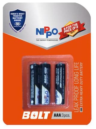 Nippo Batteries - AAA  Bolt 3 pcs