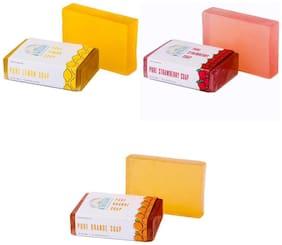 Nirvaana Handmade Natural Assorted Soap Set