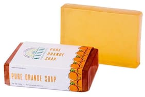 Nirvaana Handmade Natural Orange Soap 100g