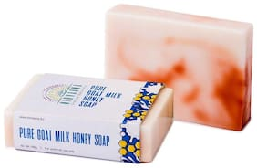 Nirvaana Handmade Natural Goat Milk Honey Soap 100g